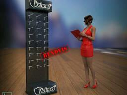 Торговая стойка Velmet от Bendvis