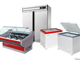 Торговый холодильник-витрина, шкаф (морозилка/морозильник)
