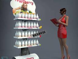 Торговый стенд Fruitberry от Bendvis