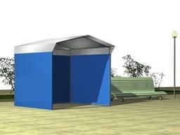 Торговые палатки ПВХ с печатью, киоск, павильон, шатер, наве