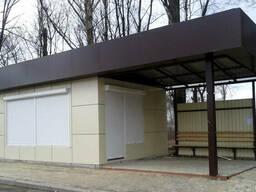 Торговые павильоны с отановкой в Макеевке