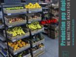 Торговые стеллажи для овощей и фруктов от Бендвис - фото 1