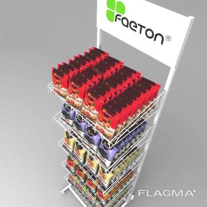 Торговые стойки Faeton