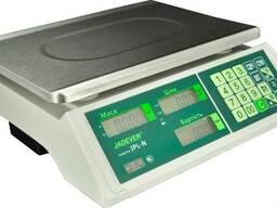 Торговые весы с поверкой Jadever JPL-N 30 LCD (LED)