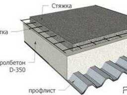 Торкретбетон, полистиролбетон, стяжка, бетонные работы. Павл