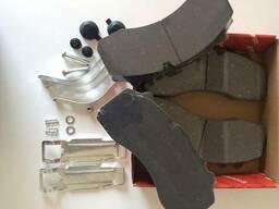 Тормозные колодки ДАФ с рмк