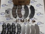 Тормозные колодки дисковые, передние Атаман Евро 5 8971686340 - фото 1