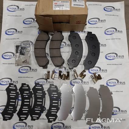 Тормозные колодки дисковые, передние Атаман Евро 5 8971686340