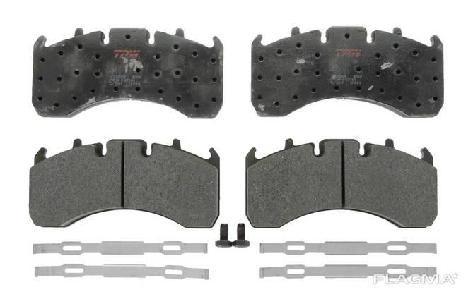 Тормозные колодки задние Trw RVI Magnum, Premium 2; Volvo