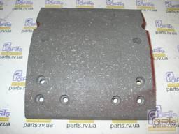 Тормозные накладки оси ROR 180x420, 2-й ремонт, 6x15отв.
