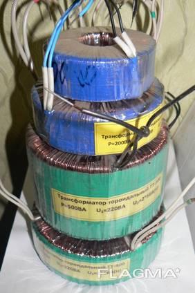 Трансформаторы тороидальные понижающие 10 видов