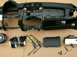 Торпедо/панель подушка безопасности airbag ремни Fiat 500