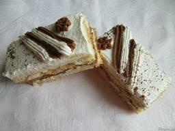Торт пирожное Зебра
