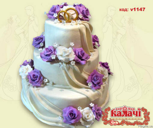 Торты на заказ Чернигов, свадебный торт Чернигов