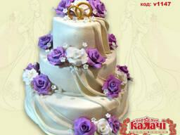 Торты на заказ Чернигов,свадебный торт Чернигов
