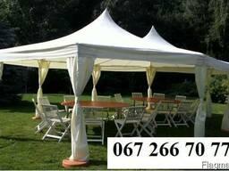 Торжественный шатер для свадьбы на природе в аренду, Днепр