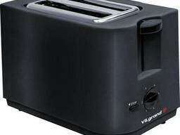 Тостер Vilgrand VT0726T Black (700Вт, таймер, поддон для крошек)