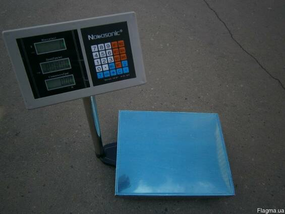 Товарные весы TCS-B 150 кг Nokasonik