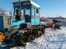 Трактор ХТЗ-181(Т-200) гусеничный