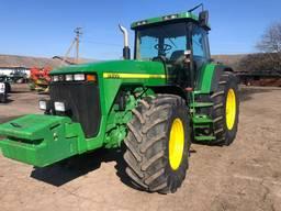 Трактор John Deere 8400 1998 год мотор V-8,1м3