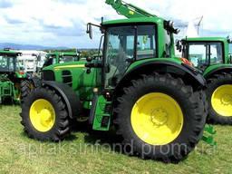 Трактор колесный John Deere 6830 PowerShift 140 л. с. 2012г