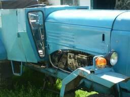 Трактор Самодельный на базе дизельного двигателя 4-Ча
