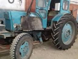Трактор Т-40 з гідрозахватом та причепом