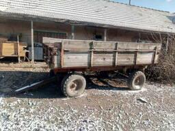 Тракторный прицеп 2птс-4 Самосвал