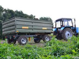 Тракторный самосвальный прицеп 2ПТС-6 к тракторам МТЗ-80.
