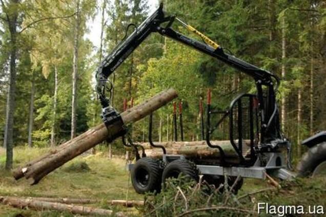 Тракторные лесные тележки, прицепы HYPRO HV14
