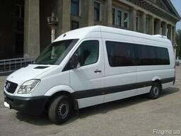 Трансфер автобусом, микроавтобусом Харьков