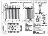 Трансформатор масляний ТМ (ТМГ)-1000/10(6)/0,4 - фото 2