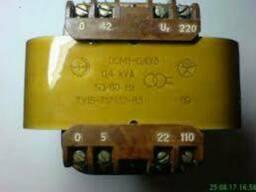 Трансформатор ОСМ-1 0.16кВт 380/110/24/5В (СССР)