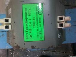 Трансформатор ОСМ1-0. 4/1 220/110В 50гц