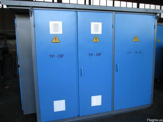 Трансформаторная подстанция КТП 630,400,250,160,100. ..