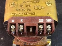 Трансформаторы понижающие ОСМ-1 0,1 380/24/5-22-110