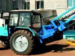 Траншеекопатель навесной на ЗНУ трактора (быстросменный)