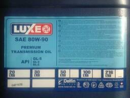 Трансмиссионное масло LUXE 80w90 Premium (Тад-17) GL-5 20л.
