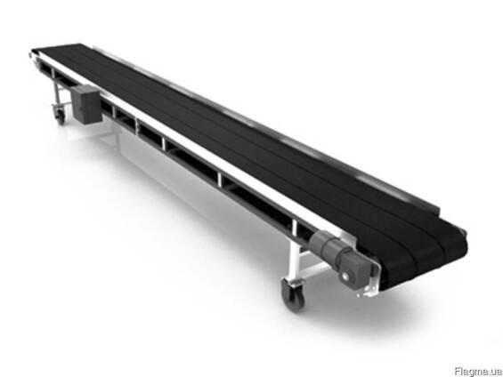 Транспортер (конвейер) ленточный для штучных грузов