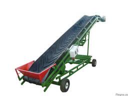 Ленточный конвейер передвижной, транспортер передвижной