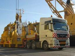 Транспортировка крупногабаритных и тяжеловесных грузов