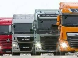 Транспортные услуги Грузовые автомобильные перевозки