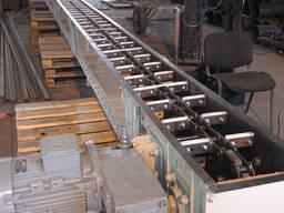 Транспортёр скребковый, скребковый конвейер