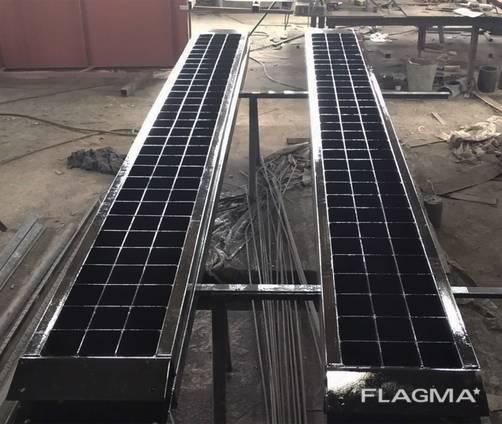 Трап металлический усиленный грузовой, заезд для спецтехники
