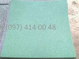Травмобезопасная резиновая плитка. 500*500*20 мм.