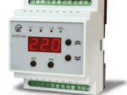 Трехфазное реле напряжения и контроля фаз РНПП-302. ..