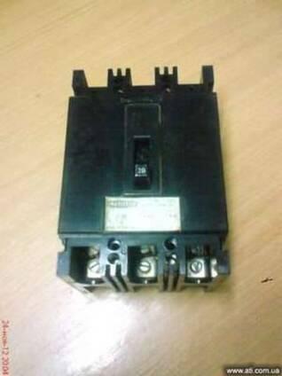 Трехфазные тепловые выключатели марки WIS63 (63A)