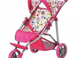 "Трехколесная коляска для кукол ""Bino"" 82919"