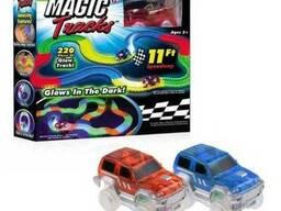 Трек для автомобилей Magic Tracks 220 деталей 2 машинки