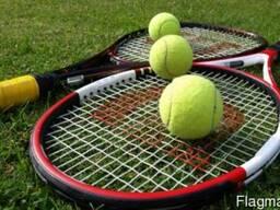 Тренировки по большому теннису на Оболони, Киев